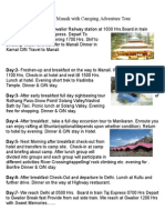 Manali Gwalior Group Tour
