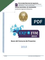 Bases Del Concurso de Proyecto EXPOFIM 2015 II