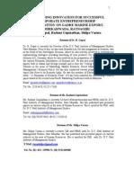 Industrial Economics Environment, CSR-05-R Gopal, Rashmi Gopinathan, Shilpa Varma