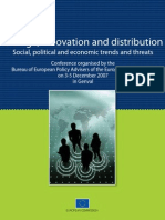 Change, innovation and distribution - Social, political and economic trends and threats
