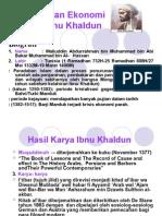 Pemikiran Ekonomi Islam Ibnu Khaldun