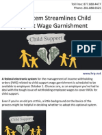 New System Streamlines Child Support Wage Garnishment