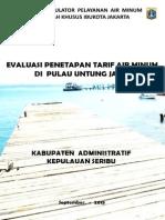 Evaluasi Tarif Pulau Untung Jawa 2015