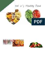 Healthy vs Unhealthy Food