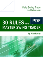 30 Rules for Swing Trader