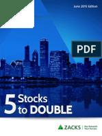 5 stocks 2 double