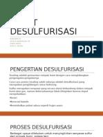 desulfurisasi