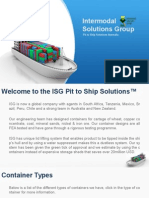 ISG Pit to Ship Solutions Australia