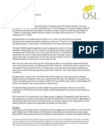 QSL Market Update 14 09 15