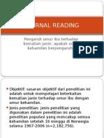 Journal Reading OBGYN