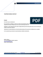 Teleprom Mobile Contact - Cotización Dólares