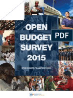 Open Budget Survey 2015