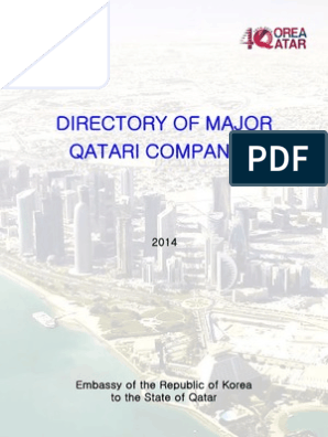 Directory of Major Qatari Companies