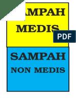 SAMPAH MEDIS