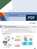NTT Data's Solutions & Case Studies in the Transportation Field