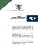 PERDA RTRW Kabupaten Karawang Tahun 2011-2031 (Bappeda)