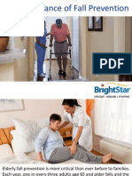 The Importance of Fall Prevention