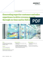 Genpact's collaborative metric tool generate superior customer and sales experience to drive revenue growth