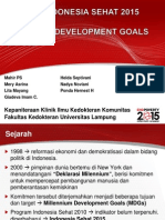 Indonesia Sehat 2015 Ppt