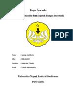 Tinjauan Pancasila dari Sejarah Bangsa Indonesia