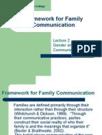 2 Framework for Family Communication