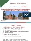 Lecture3-FaultTolerance