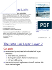 2 Networking Link Layer