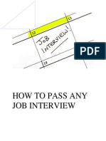 Your Job Interview Success Guide