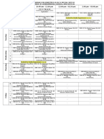 Time Table 2015 Fall 2015-16 Env Sci