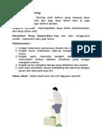 Danish Step Training