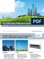 Silyzer-200-PEM Based Electrolyser for Hydrogen Generation