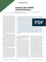 Hiv Adherence Theory