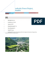 Ituango Hydroelectric Power Project