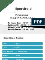 217186523 Laporan Kasus Hipertiroid