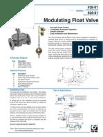 Modulating Float Valves