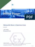 Making Safe Waves in Hazardous Areas!