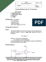 Ex.1 Parameters