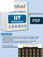 IIT JEE Advanced Coaching Classes