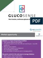 NetScientific CMD Glucosense May 2015