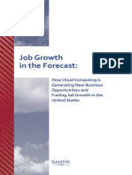 Job Growth in the Forecast