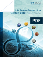 Overview Renewable Power Generation Costs in 2012