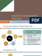4 Tutorial Weight Estimation