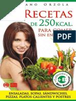 92 Recetas de 250 Calorias -  Mariano Orzola