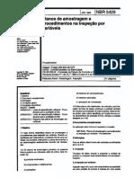 NBR5429 - 1985 - Planos de Amostragem e Procedimentos Na Inspeção Por Variáveis (1)