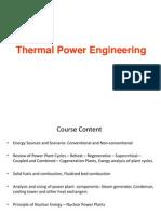 Thermal Power Engineering