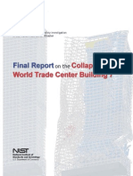 Final Report on the Colapse of World Trade Center Buildilg 7