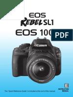 Eos Rebelsl1 100d