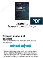 Chapter 1 - Process Models of Change Part 1