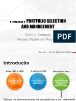 Project Portfolio Selection and Management