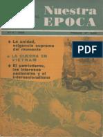 Nuestra Epoca N°6 - Junio 1966 - Revista Internacional